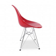 Eames DSR Chair Red insp by Chares Eames