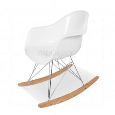 Eames RAR Rocking Chair White insp by Charles Eames