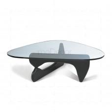 Noguchi Coffee Table Black Base insp by Isamu Noguchi