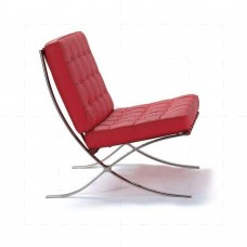 Barcelona Chair - Red Leather