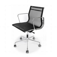 Eames Office Chair - Mesh - Lowback Black - Reproduction